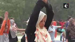 7-day yoga camp is underway in AMU ahead of International Yoga Day