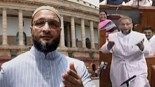 Asaduddin Owaisi's | Allah hu akbar | in The Parliment | Make Muslims Proud