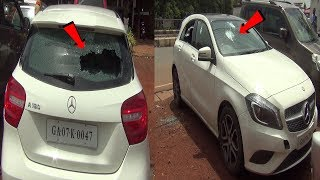 St Cruz ZP Members Mercedes-Benz Car Damaged By Unknown Person