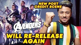 Avengers Endgame Will Re-Release Next Week With New Post Credits Scene