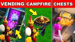 Search a Chest, use a Vending Machine, and a Campfire in a single match Week 7 Challenges Guide