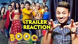 BOOO SABKI PHATEGI Trailer Reaction | Tusshar Kapoor, Mallika Sherawat, Krushna, Kiku | ALTBalaji