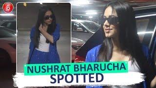 Nushrat Bharucha Spotted At Mumbai Airport