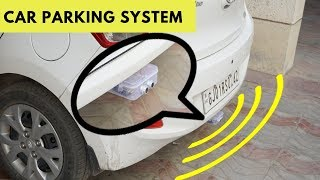 How to make car reverse parking alert system at home