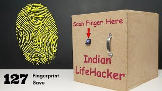 How to make Fingerprint Locker with Arduino | Indian LifeHacker | #Howto