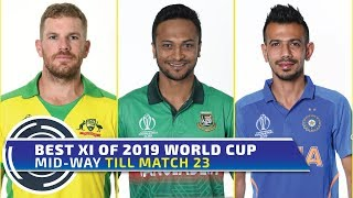 Best XI of World Cup 2019 mid-way | Aaron Finch to lead | Buttler to keep