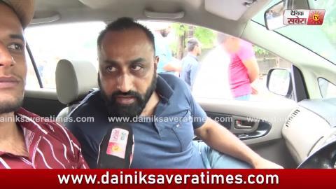 Video- Amritsar में Mall Road धसने पर लोगों ने की ठेकेदार के खिलाफ कार्यवाही की मांग