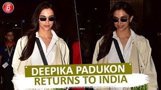 Deepika Padukone Returns To India After Meeting Kendall Jenner