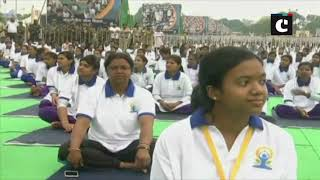 Time to take yoga to villages: PM Modi on 5th International Yoga Day