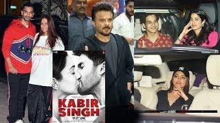 Bollywood Celebs At Kabir Singh Special Screening At YRF Studios   Shahid, Kiara, Sonakshi