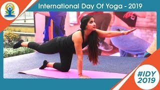 let's Celebrate International Yoga Day 2019 @Noida | Satya Bhanja