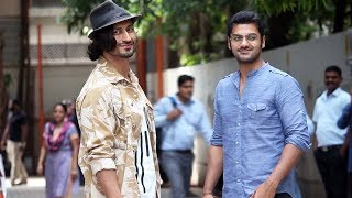 Vidyut Jammwal Spotted At Post Dubbing Studio For Movie Commando 3