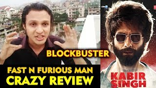 Fast N Furious Man REVIEW On Kabir Singh | Shahid Kapoor | Kiara Advani