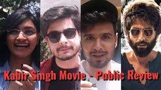 Kabir Singh Movie - PUBLIC REVIEW - Shahid Kapoor & Kiara Advani