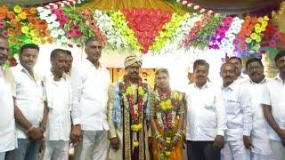 Harish Rao at the wedding ceremony//వివాహ వేడుకలో హరీష్ రావు.....