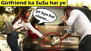 Girlfriend ki SuSu Prank On Cute Girls | Prank In India | Unglibaaz ft. vidmate