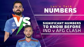 World Cup 2019, Match 28, India vs Afghanistan: Let's Talk Numbers