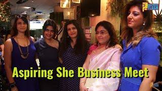 Aspiring She Business Meet By Saumyata Tiwari With Dignitaries
