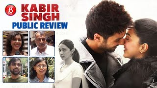 Kabir Singh PUBLIC Review | First Day First Show | Shahid Kapoor & Kiara Advani