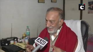 No leader has ever denied to talk: Bhim Singh on Hurriyat leaders to talk with J&K Governor