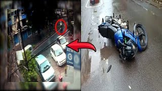 Vasco: Chilling CCTV Footage Shows Tree Falling On Biker