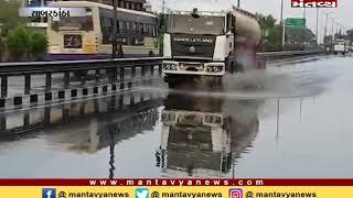 Sabarkantha: હિંમતનગરમાં ધોધમાર વરસાદ, નીચાણવાળા વિસ્તારમાં પાણી ભરાયા