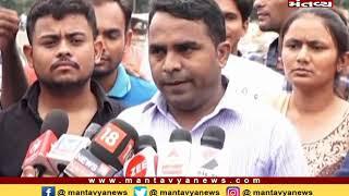 Gandhinagarમાં ટેટ પાસ ઉમેદવારોનાં ધરણાં - Mantavya News