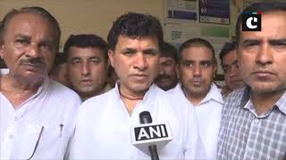 Barmer tent collapse: MoS Kailash Choudhary visits victims in hospital