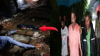 Panjim Mayor At Midnight Supervises & Clears Cloged Drains