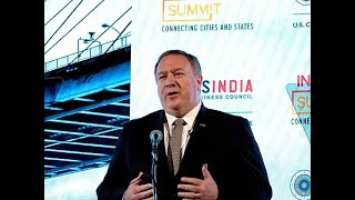 Mike Pompeo in India today ahead of Modi-Trump meet on G-20 sidelines