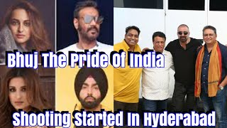 Bhuj The Pride Of India Shooting  Begins In Hyderabad