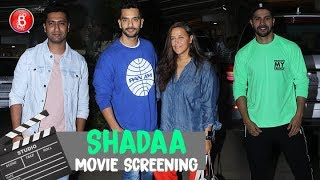 Vicky Kaushal, Neha Dhupia Varun Dhawan Attend Screening Of Diljit Dosanjh's Shadaa