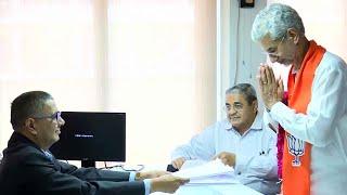 Gujarat: S Jaishankar files nomination for Rajya Sabha poll in Gandhinagar