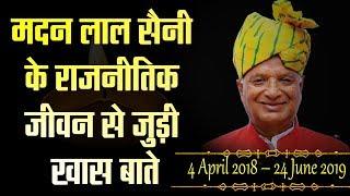 बेमिसाल रहा राजस्थान बीजेपी के प्रदेशाध्यक्ष मदनलाल सैनी का राजनीतिक सफर ।