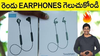 Noise TuneDUO & Noise TuneSPORT Bluetooth Wireless Sports Earphones Unboxing & Giveaway
