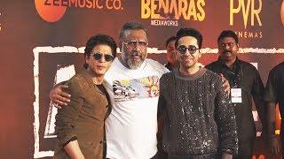 Shahrukh Khan Grand Entry At Ayushmann Khurranas ARTICLE 15 Screening