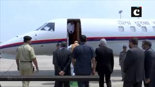Home Minister Amit Shah leaves for Srinagar