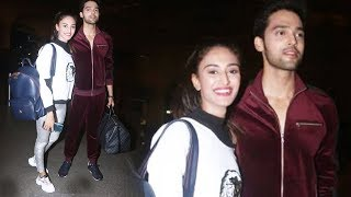 Erica Fernandes And Parth Samthaan LEAVES To Switzerland, Spotted At Airport