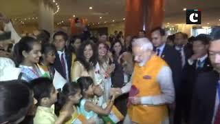 'Modi-Modi' chants echo as Indian community welcomes PM in Japan's Osaka