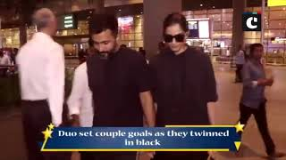 Sonam Kapoor, Anand Ahuja set couple goals as they returned from vacation
