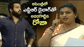MLA Roja Power Punch Cinematic Dialogues in Assembly