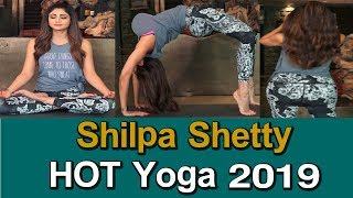 Bollywood Actress Shilpa Shetty H0T Yoga Exercise Videos 2019 | Shilpa Shetty Gym Workout Videos