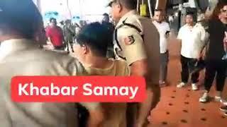 देखिये - कथित गुरुंग टीम के योगेंद्र प्रधान सहित रोशन राय को पुलिस हिरासत में लेकर जाते पुलिस ।