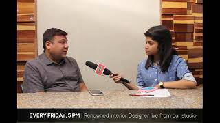 live Talk_Show Interiorlive with InteriorDesignerAmit_Agarwal