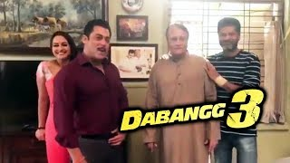 DABANGG 3 | Salman Khan Introduces Pramod Khanna, Replacement For Vinod Khanna Ji