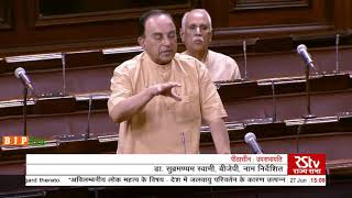 Shri Subramanian Swamy on the Situation arising due to climate change in the country