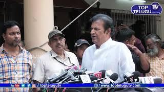 Mohan Babu About Vijaya Nirmala   Tollywood Celebrities visits Krishna House   Top Telugu TV