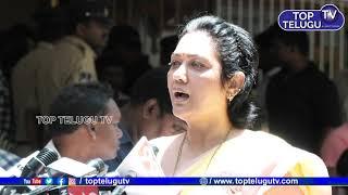 Actress Hema About Vijaya Nirmala   Tollywood Celebrities Visits Krishna Family   Top Telugu TV