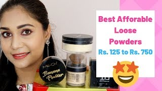 Top 6 Loose Powders | Best Affordable Loose Powder In India | Rs. 125 to Rs. 750 | Nidhi Katiyar