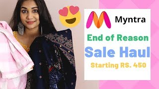 Myntra EORS Sale Haul | Myntra sale Haul 2019 | Share & Earn using EarnKaro | Nidhi Katiyar